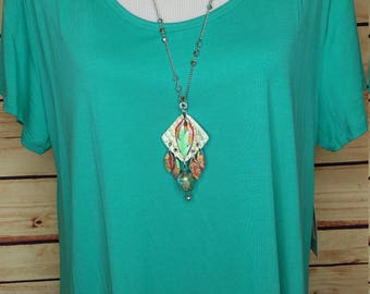 Flame Feathers Necklace