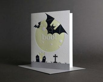 Bats Moon Boo Glow-in-the-Dark