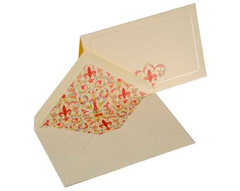 Giglio - Italian note cards with envelope in box