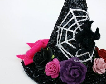 Witch hat,baby halloween costume, baby witch, Halloween photo shoot