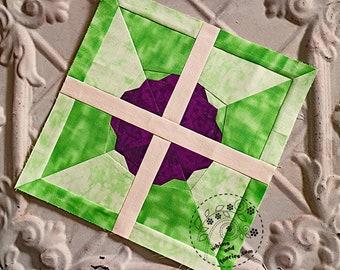 Pinwheel Flower - Paper Piecing