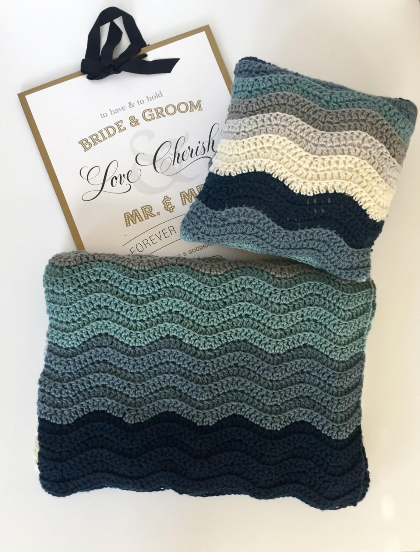 Crochet PATTERN Blanket Wedding gift Colors, Crochet Blanket PDF ...