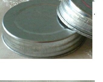 Galvanized Metal Mason Jar Lid