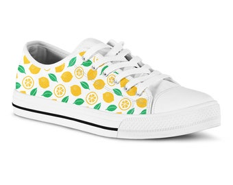 Womens Tennis Shoe Laces Watercolor Fruit Apple Painting Skating Shoe