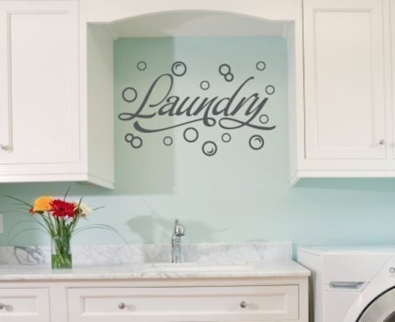Nice Wall Decal Laundry Room Wall Decal Bubble Wall Stickers