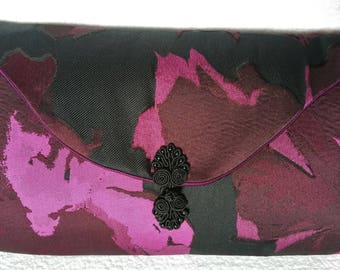 Gorgeous fabric clutch purse