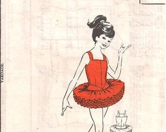 Vintage Theatreland Ltd Tutu Sewing Pattern Size 8/9yrs