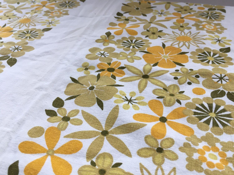 scandinave rideau cantonni re topper floral mid century rideau. Black Bedroom Furniture Sets. Home Design Ideas