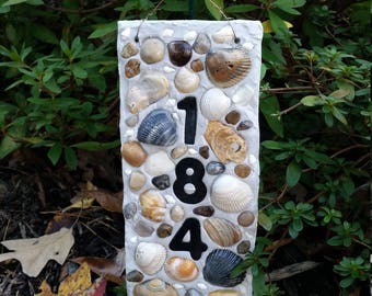 Mosaic Plaque for Beach House