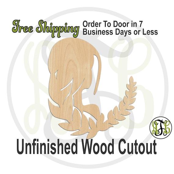 Virgo - 430008- Zodiac Cutout, unfinished, wood cutout, wood craft, laser cut shape, wood cut out, Horoscope, wooden, Aug 23 - Sep 22