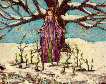 Goddess of Spring, Divine Feminine print