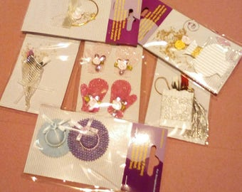 Selection of 6 Individually Packaged Embellishments