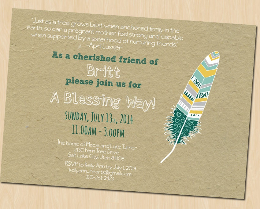office blessing invitation