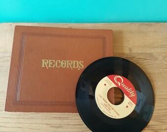 Vintage Record Album for 45's