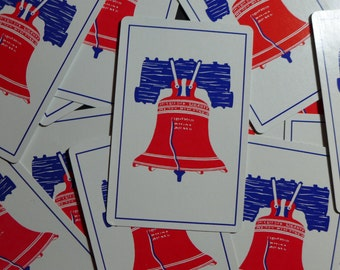 Vintage Liberty Bell Playing Cards