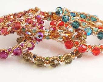 Arabian Nights Bracelet Tutorial
