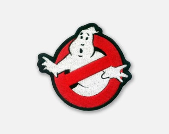 Ghostbusters embroidered patch logo