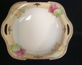 Unmarked Vintage Serving Bowl E-181