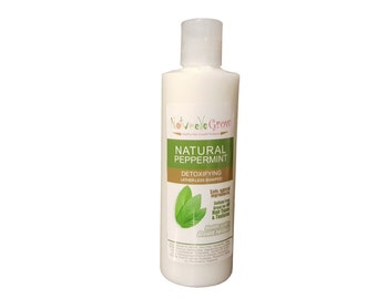 Peppermint Hair Cleansing Conditioner Natural Moisturizing latherless Hair Shampoo for Itchy Scalps