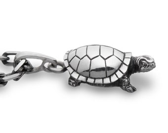 Turtle necklace Turtle jewelry  Silver turtle Little turtle Animal jewelry Ocean jewelry Sea turtle pendant Gift