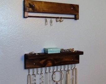 Wall Hanging Jewelry Organizer Jewelry Hanger Handmade