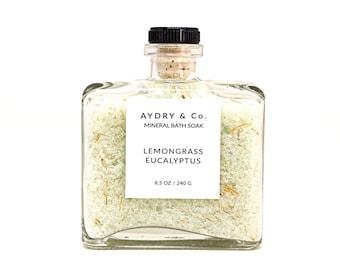Trempage de bain minéral Eucalyptus citronnelle