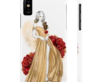 Belle Phone Case, Beauty & The Beast Phone Case, Beauty and the Beast iPhone Case, Belle iPhone Case, iPhone 7 case, iPhone 6 Case, Belle