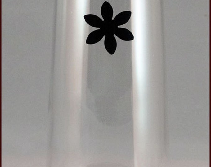 Flower Glass Decals, Glass Not included - 8 pack