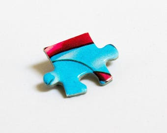 Puzzle piece pin - models to choose from