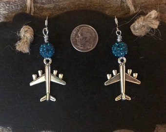 Handmade Jewelry- Jet Airplane