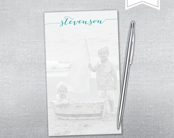 Personalized Notepad. Personalized notepad with photo.