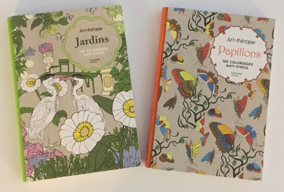 New With Tags 2 Hardcover Adult Anti Stress Coloring Books
