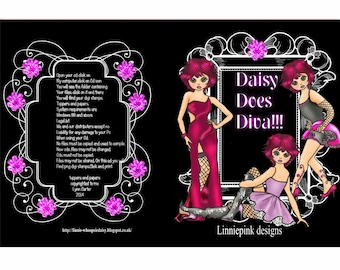Daisy does Diva Crafting Cd