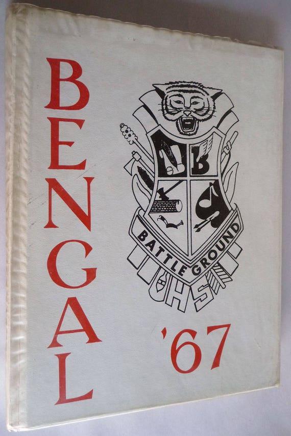 Battle Ground High School Yearbook (Annual) 1967 - The Bengal Volume 28 - Clark County Washington WA