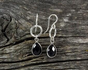 Onyx Spirit Stone Earrings