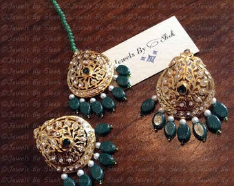 Serina earrings and tikka set