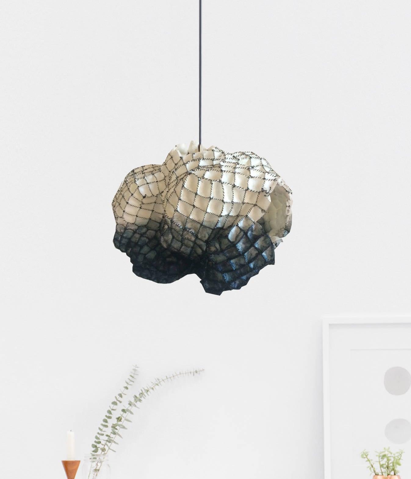 Modern rustic cocoon chandelier dining light cocoon pendant zoom arubaitofo Gallery