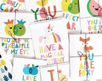 ANY SET of Greeting Cards of Your Choice