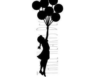 Banksy Balloon Girl SVG Image Ready To Use