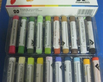 Ferrario Extrafine soft Pastels kit of 20 pcs  full stick -(Made in Italy)