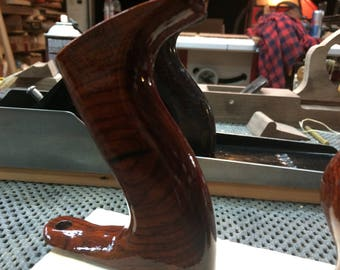 Stanley no 3-4 hand plane tote replacement, shaped and finished. Various woods, US and Canada