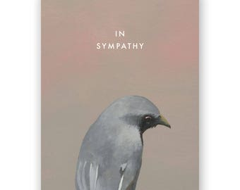 Bird Sympathy Card - Birds - Greeting - Stationery