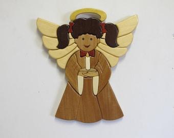 Intarsia Hope Angel