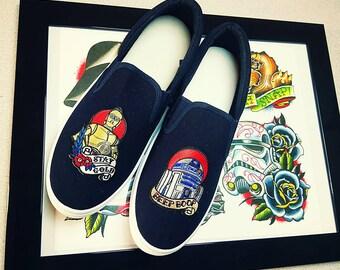 custom Sneakers  style star wars