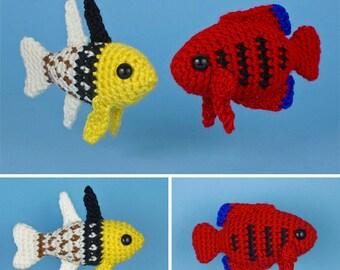Amigurumi Fish Tutorial : Dory part loomigurumi amigurumi rainbow loom band crochet