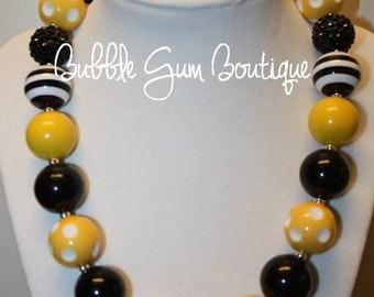Pittsburgh Steelers Bubble Gum Necklace