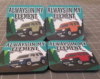 Honda Element Drink Coasters!!