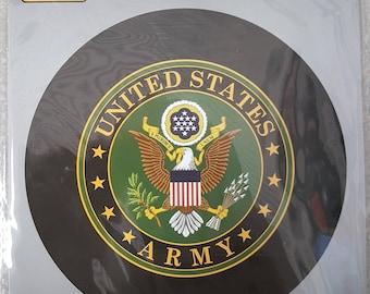 Army Party Balloon/USA Army Balloon/US Army Crest Balloon/American Eagle Party Balloon/Military Mylar Balloon 18 Inch