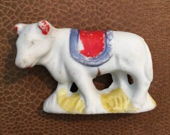 Bisque Ox Bull Vintage