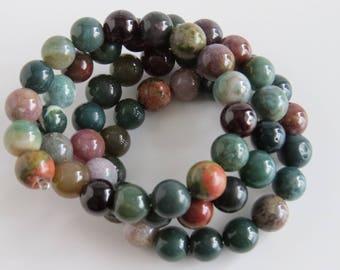 Green Unakite Bracelet
